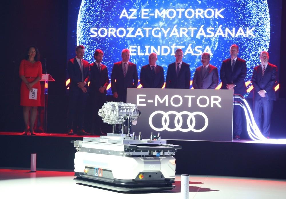 Audi uruchamia produkcję silników elektrycznych na Węgrzech