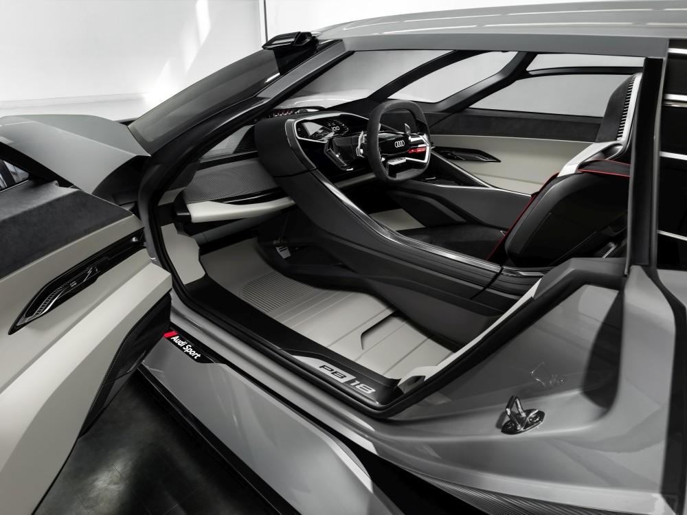 Wnętrze Audi PB18 e-tron