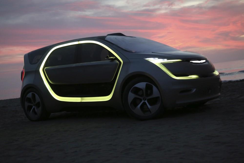 Chrysler Portal koncept - przód bok oświetlenie