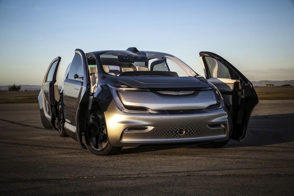 Chrysler Portal koncept - przód drzwi