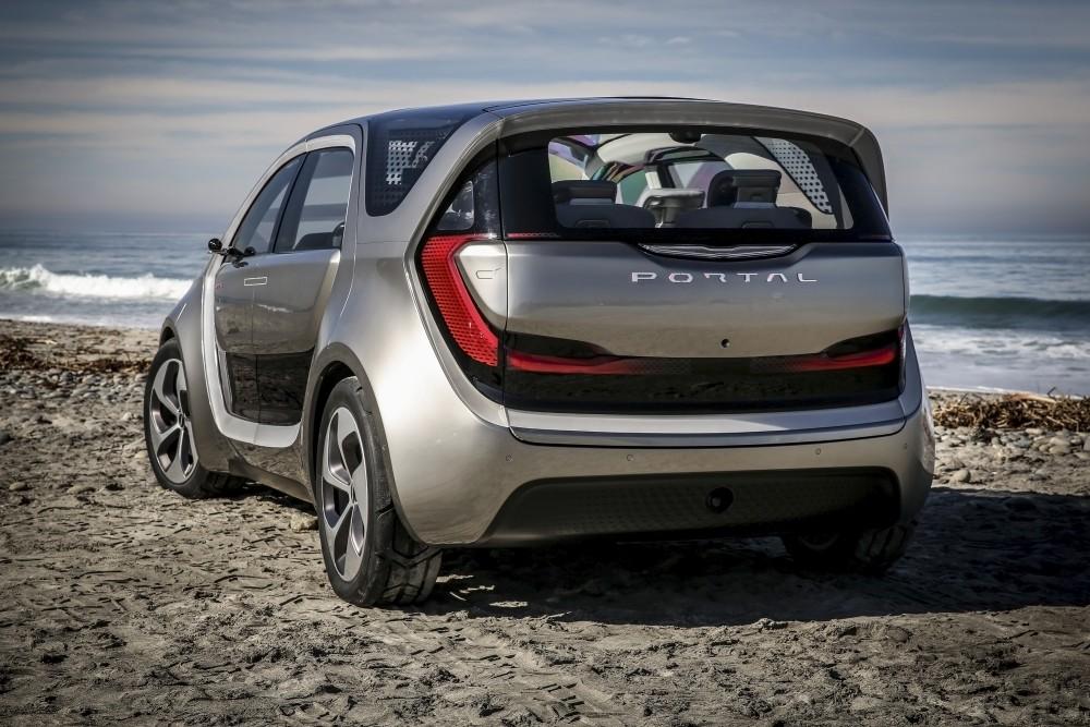 Chrysler Portal koncept - tył