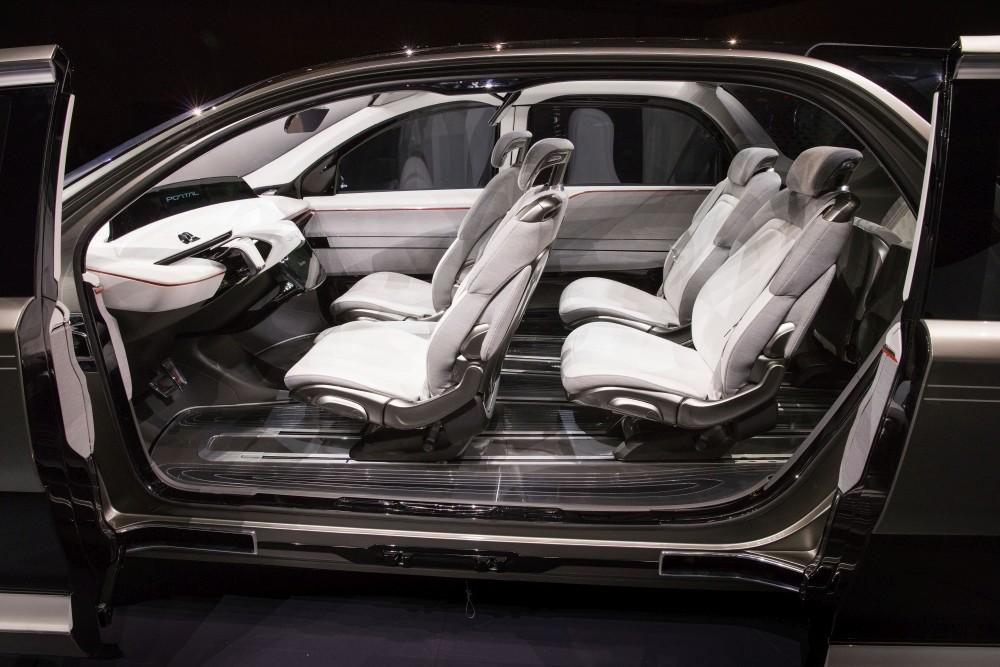 Chrysler Portal koncept - wnętrze