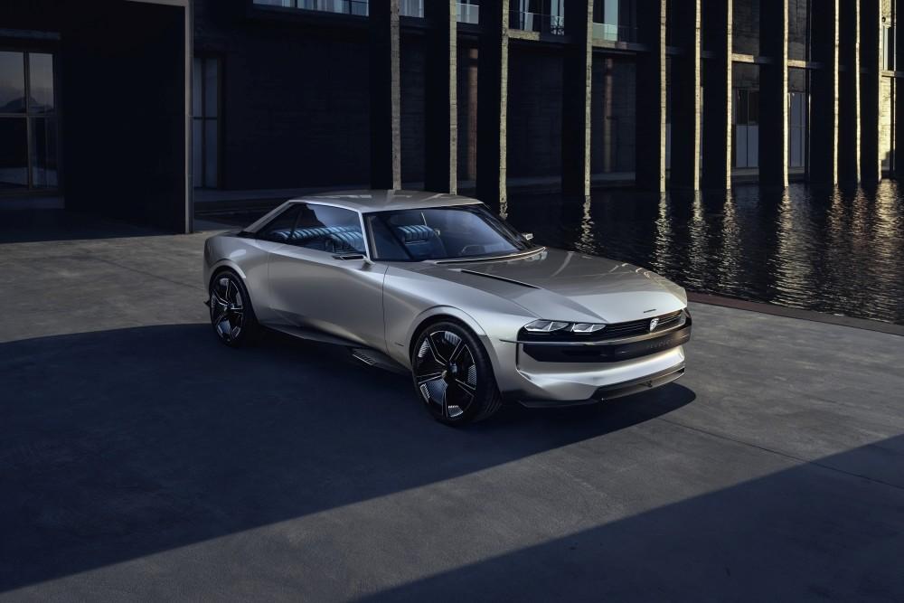 Elektryczny Peugeot e-Legend Concept - przód