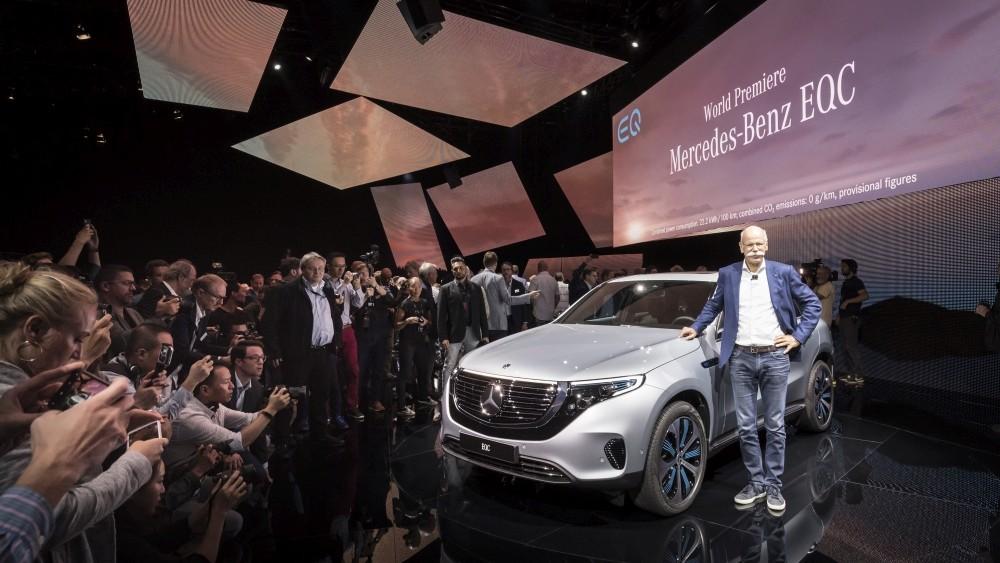 Elektryczny Mercedes EQC 400 - prezentacja