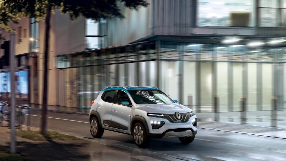 Renault K-ZE - przód