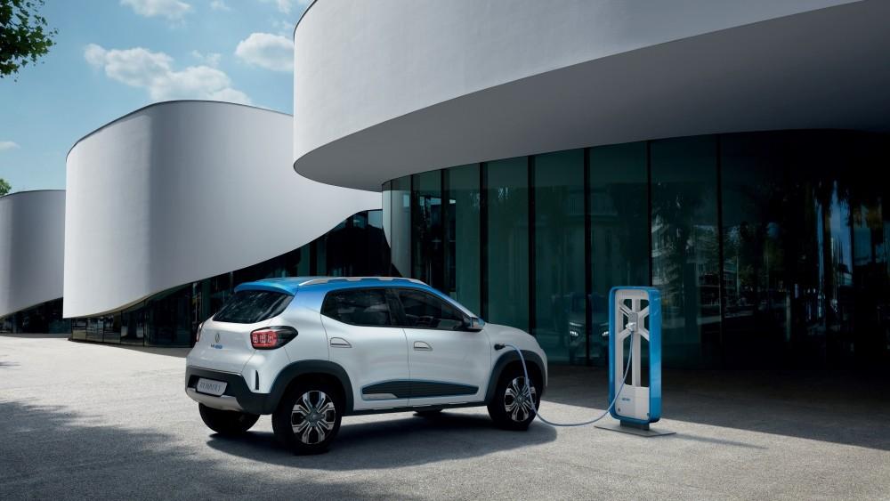 Renault K-ZE - tył