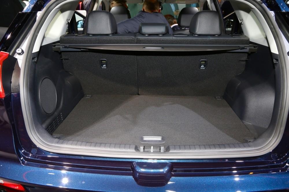 Samochód elektryczny Kia e-Niro - bagażnik