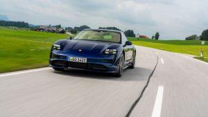 Porsche Taycan Turbo - galeria